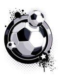 deseniowa piłki piłka nożna Obraz Stock