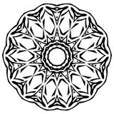 Deseniowa rama royalty ilustracja