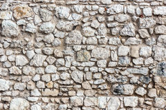 Deseniowa szara kamienna ściana Zdjęcie Stock