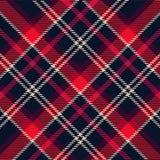 deseniowa szkocka krata Fotografia Royalty Free
