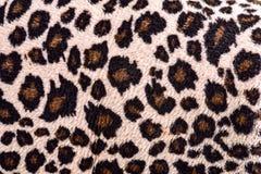 Deseniowa tkanina lampart dla tła, tekstura Obrazy Stock