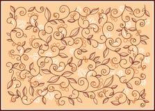 deseniowa wanilia Zdjęcia Stock