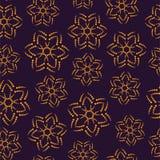 deseniowe bezszwowe gwiazdy royalty ilustracja