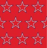deseniowe bezszwowe gwiazdy Obrazy Royalty Free