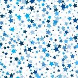 deseniowe bezszwowe gwiazdy Zdjęcie Royalty Free