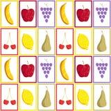 Deseniowe owoc Zdjęcie Royalty Free