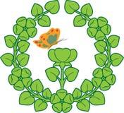deseniowe rośliny royalty ilustracja