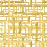 deseniowe złoto drymby Obrazy Stock