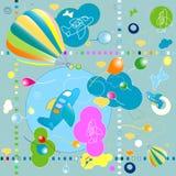 deseniowe zabawki Fotografia Stock