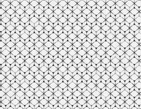 Deseniowego tła wieloboka Geometryczna linia ilustracja wektor