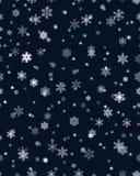 deseniowi bezszwowi płatek śniegu Fotografia Stock