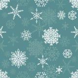 deseniowi bezszwowi płatek śniegu Zdjęcie Stock