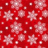deseniowi bezszwowi płatek śniegu Obrazy Stock