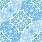 deseniowi bezszwowi płatki śniegu ilustracja wektor