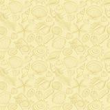 deseniowi bezszwowi seashells royalty ilustracja
