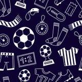 deseniowi bezszwowi sporty royalty ilustracja