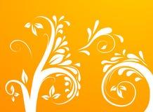 deseniowi drzewni winogrady Zdjęcie Royalty Free