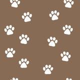 deseniowi ślady bezszwowi zwierzę Zdjęcie Royalty Free