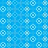 Deseniowi płatki śniegu Obrazy Royalty Free