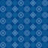 Deseniowi płatki śniegu Fotografia Royalty Free