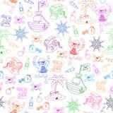 deseniowi piraci Obrazy Royalty Free