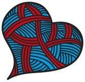 Deseniowi serce kształty dla walentynka dnia Royalty Ilustracja