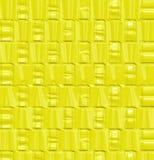 deseniowy żniwa kolor żółty Zdjęcie Stock