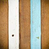 deseniowy ławki drewno Obraz Stock