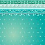 deseniowy błękit sari Zdjęcia Royalty Free