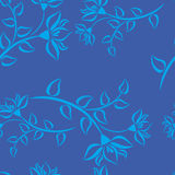 deseniowy błękit warzywo Zdjęcie Stock