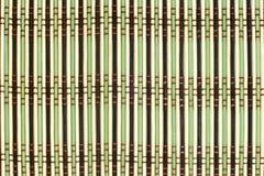deseniowy bambusa placemat Zdjęcia Royalty Free