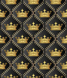 deseniowy bezszwowy Obrazy Royalty Free