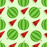 deseniowy bezszwowy arbuz Fotografia Royalty Free