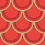 deseniowy bezszwowy arbuz Obraz Royalty Free
