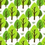 deseniowy bezszwowy drzewo Obraz Royalty Free