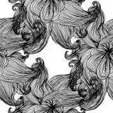 deseniowy bezszwowy falisty Obraz Royalty Free