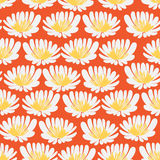Deseniowy bezszwowy kwiat royalty ilustracja