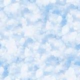 deseniowy bezszwowy śnieg Obrazy Stock