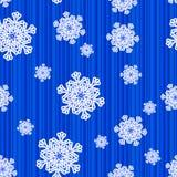 deseniowy bezszwowy płatek śniegu Zdjęcie Royalty Free