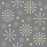 deseniowy bezszwowy płatek śniegu ilustracja wektor