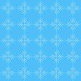 deseniowy bezszwowy płatek śniegu ilustracji