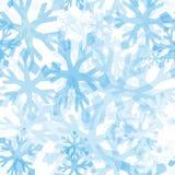deseniowy bezszwowy płatek śniegu Zdjęcia Stock
