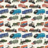 deseniowy bezszwowy pociąg Obrazy Royalty Free