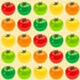deseniowy bezszwowy pomidor Zdjęcia Stock
