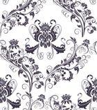 deseniowy bezszwowy rostowy Zdjęcie Royalty Free