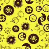 deseniowy bezszwowy steampunk Obraz Stock