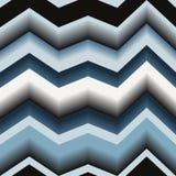 deseniowy bezszwowy zygzag Obrazy Stock