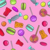 deseniowy cukierki zdjęcia stock