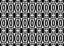 Deseniowy czarny i biały kolor Obrazy Royalty Free