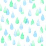 deseniowy dżdżysty bezszwowy ilustracji